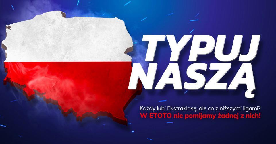 Freebet eToto. 50 PLN za darmo co tydzień!
