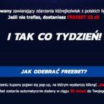 freebet 50 pln za darmo