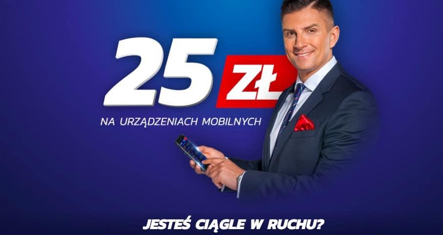 eToto przez telefon. Darmowy bonus 25 PLN!
