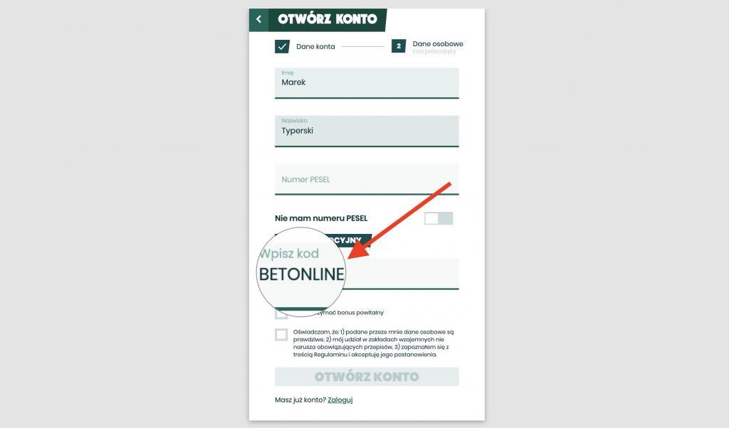 betfan kod bonusowy 2020