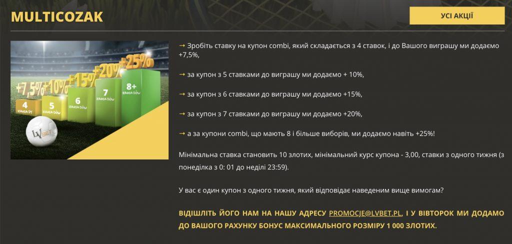 Promocje bukmacherskie dla Ukraińców