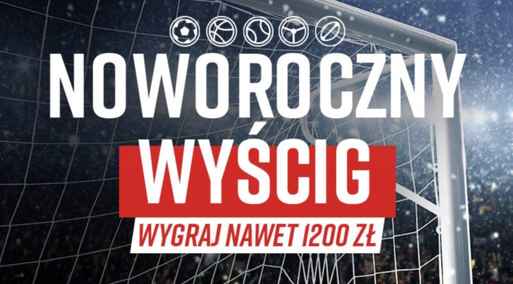 1200 PLN na nowy rok do zdobycia w Betclic Polska!