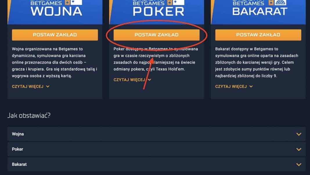 STS Poker. Jak grać na pieniądze w karty online?