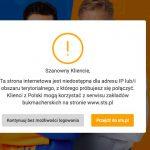 STSbet z polskiego IP