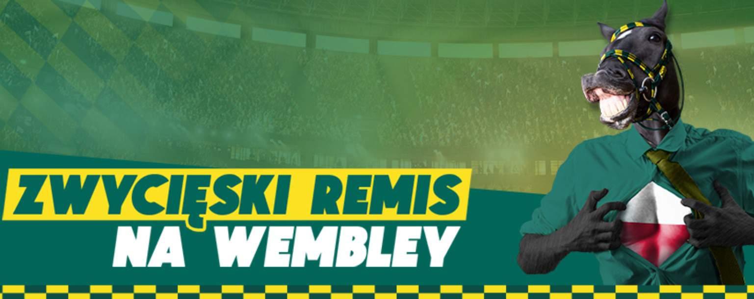 Betfan bonus, czyli zwycięski remis na Wembley