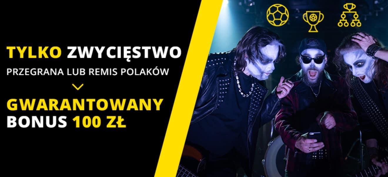 Obstawianie Polska - Słowacja z gwarantowanym bonusem 100 PLN!